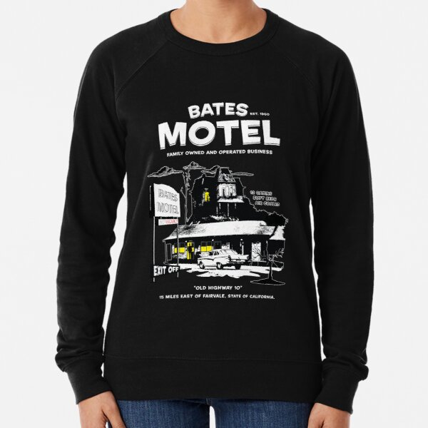 Bates Motel - Open 24 hours Lightweight Sweatshirt