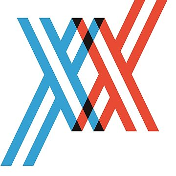 The XX icon from Studio Trigger's Darling in the FranXX by DubyaP