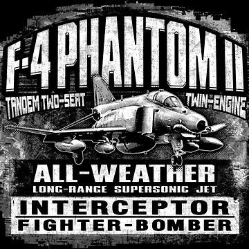 F-4 Phantom II by deathdagger