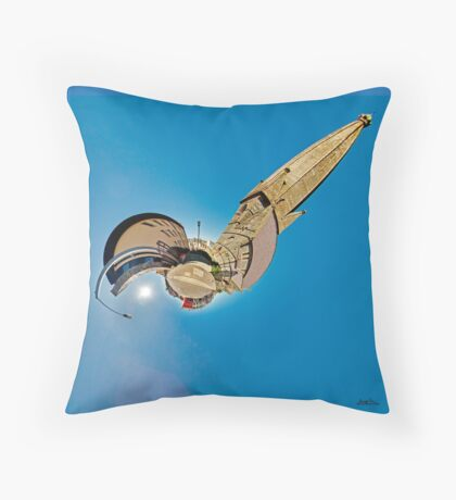 All Saints Clooney, Derry Throw Pillow