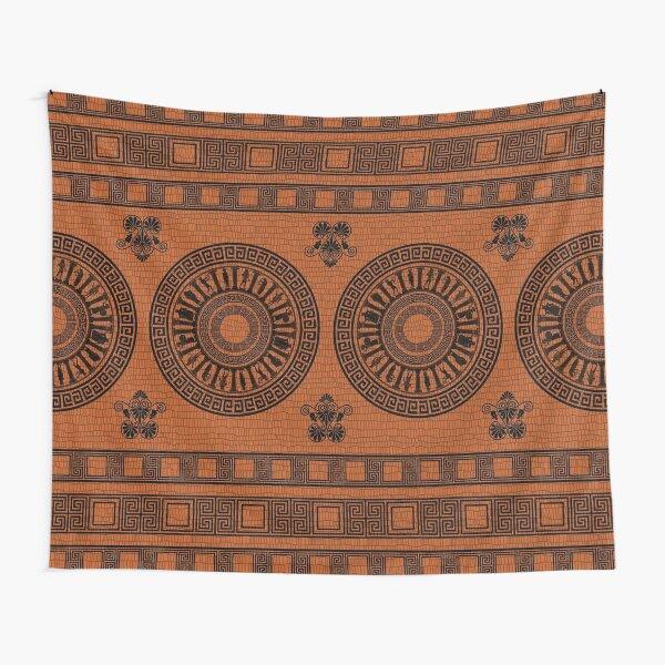 Greek Gods Pattern Tapestry