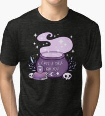 Witch Cauldron Tri-blend T-Shirt