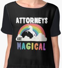 Attorneys Are Magical Chiffon Top