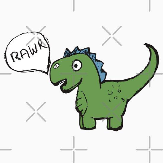 TShirtGifter presents: Dino-Rawr