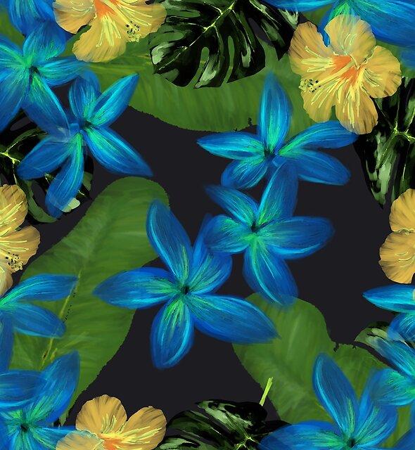 Caribbean blue by elenabdesigns