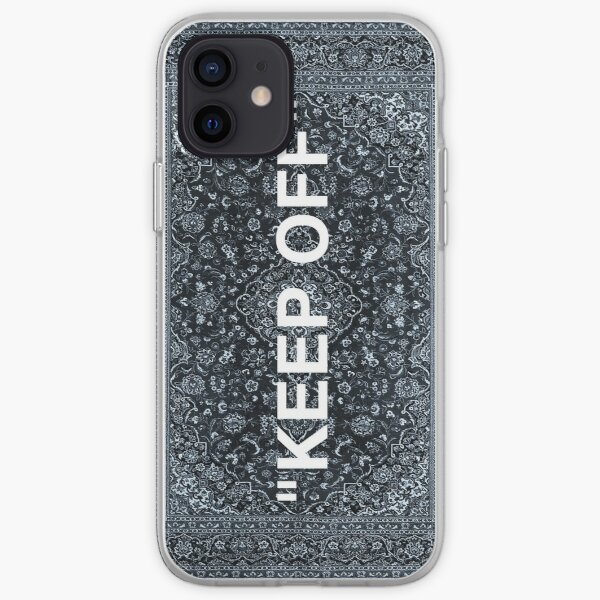 "Alfombra Persa ""KEEP OFF"" Funda blanda para iPhone"