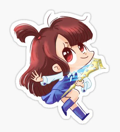 Akko petite sorcière Sticker