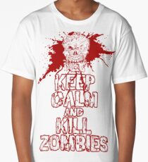 Keep Calm and Kill Zombies Long T-Shirt
