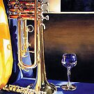 """High Notes"" Watercolor by Paul Jackson"