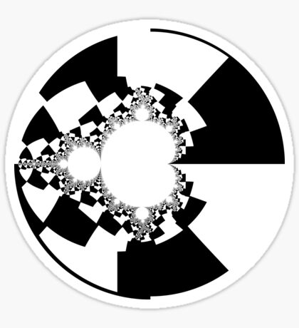 Binary Decomposition Mandelbrot Sticker