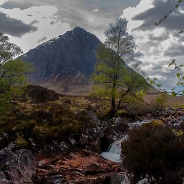 Buchaille Etive Mhor by ropedope
