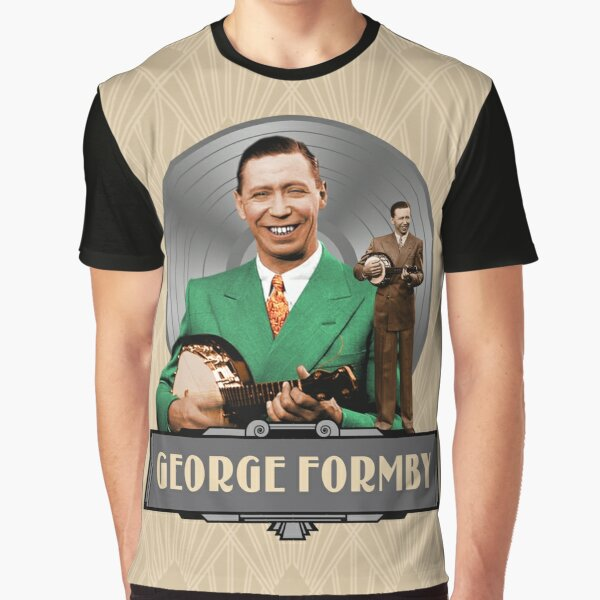 George Formby - The Good Old Days Graphic T-Shirt