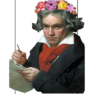 Beethoven art quote the true artist is not proud by ClaireStag