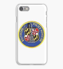 Baltimore Police Homicide iPhone Case/Skin