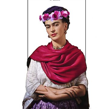 Frida Kahlo art quote  by ClaireStag