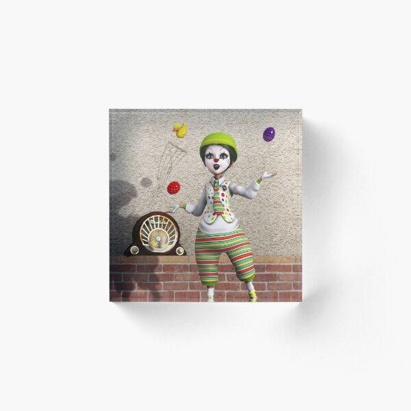 Juggling Acrylic Block