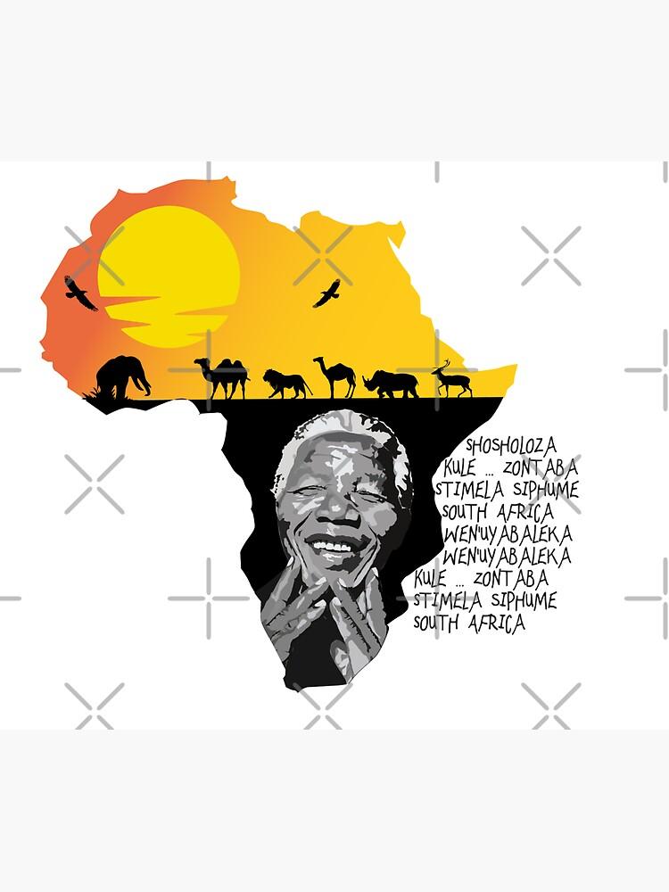 Nelson Mandela by mayerarts