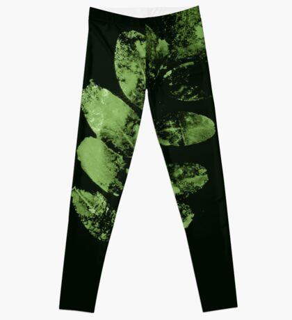Envoûtante Feuille Verte Leggings