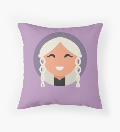 The Mother of the House Throw Pillow
