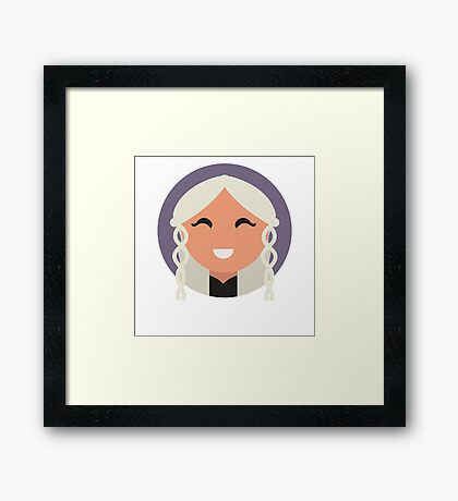 The Mother of the House Framed Print