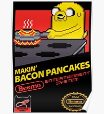 Super Makin' Bacon Pancakes Poster