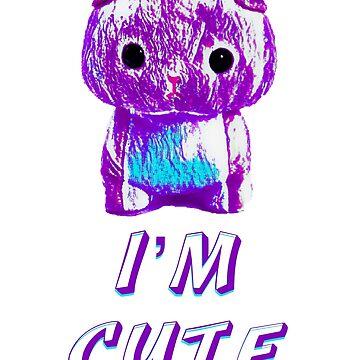 Cat cartoon - I'm cute by Flifo20