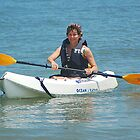 Surf kayaking by Michele Conner