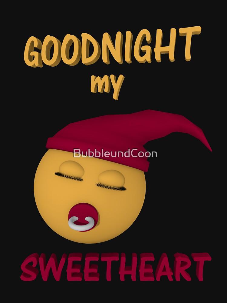 Gute Nacht mein Schatz von BubbleundCoon