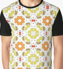 happy sketch icon texture Graphic T-Shirt