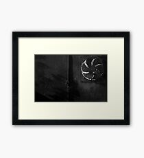 VENTING OUT Framed Print