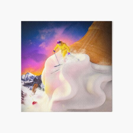 Snow Cone Art Board Print