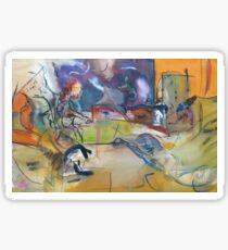 """Untitled - """"A Stranger is Abstract"""" Print Sticker"""