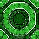 Green spray brick  by Emerlamb