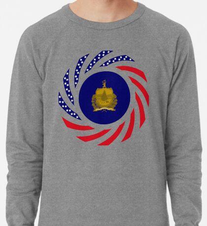 Vermont Murican Patriot Flag Series Lightweight Sweatshirt