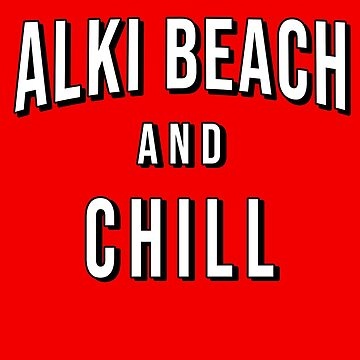 ALKI BEACH  and CHILL by Greenbaby