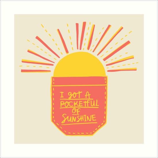 pocket full of sunshine song