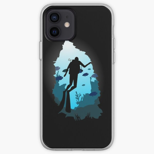 diving iPhone Soft Case