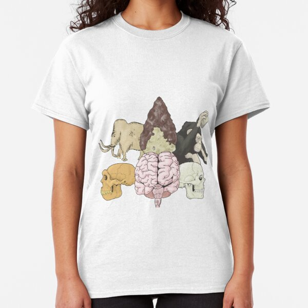 Evolution of human cognition Classic T-Shirt