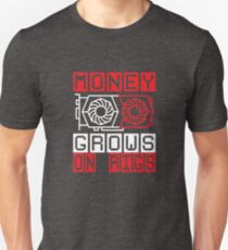 GPU Miners Money Grows on Rigs TEAM RED Crypto Mining Unisex T-Shirt