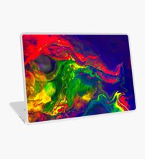 Cool Colorful Dragon Face Abstract Gifts Design From Paintings Laptop Skin