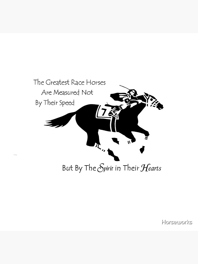 The Greatest Race Horses.... by Horseworks