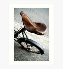 saddle cramp Art Print