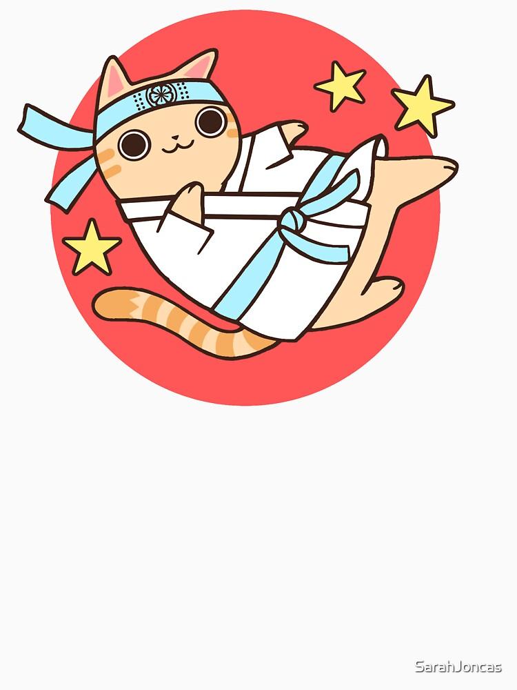 Karate Cat by SarahJoncas