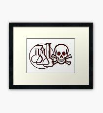 Chemie Gerahmtes Wandbild