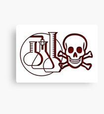 Chemie Leinwanddruck