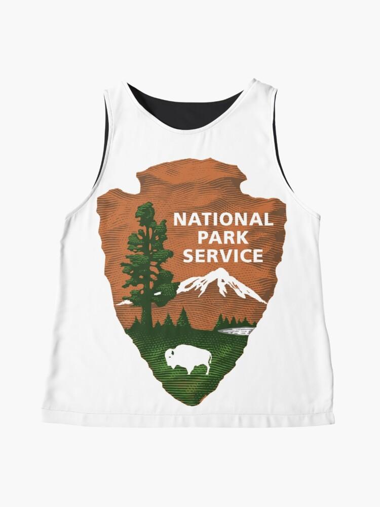 Alternative Ansicht von Nationalpark Service Ärmelloses Top