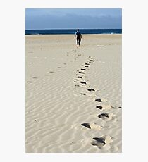 Footprints Photographic Print