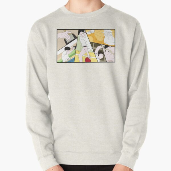 Ping Pong The Animation Print Pullover Sweatshirt