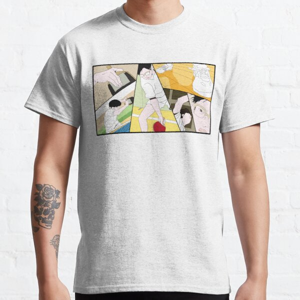 Ping Pong The Animation Print Classic T-Shirt