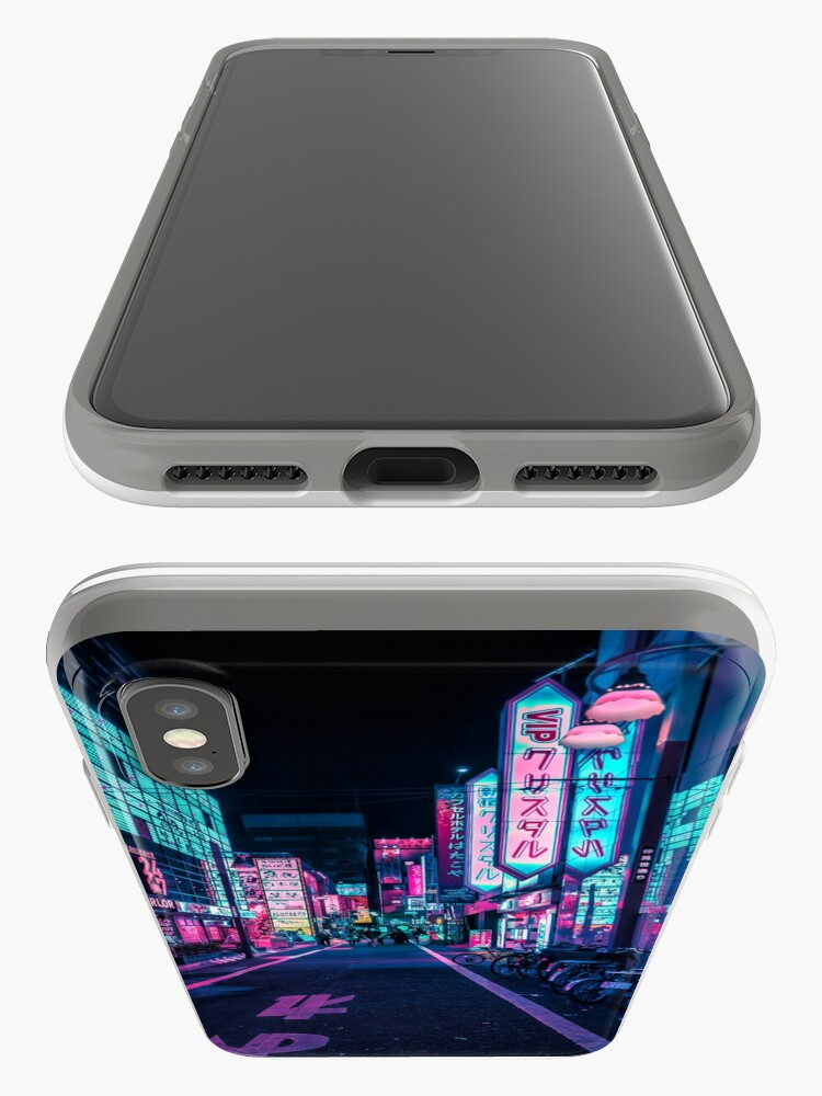Alternate view of Tokyo - A Neon Wonderland iPhone Case & Cover